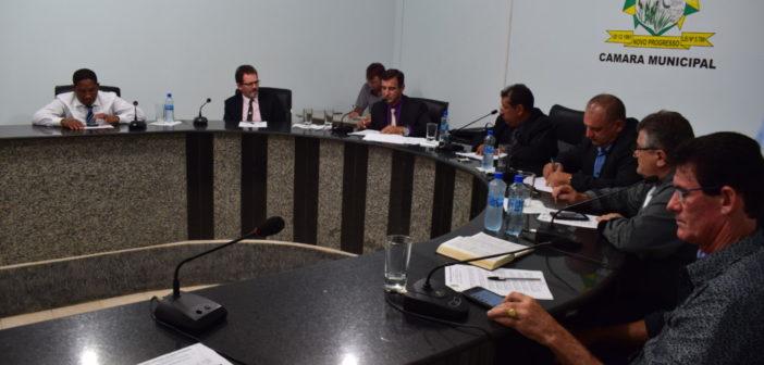 Abertura da 1ª reunião ordinária da Câmara Municipal do ano 2019
