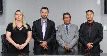 Mesa diretora do biênio 2021/2022.